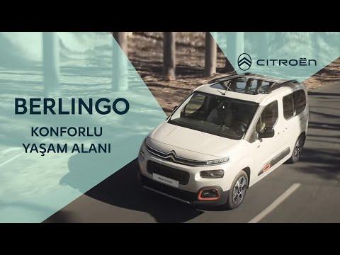 Yeni Citroen Berlingo - Konforlu Yaşam Alanı