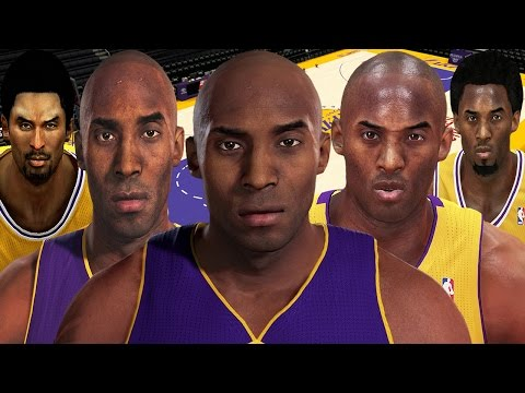 Kobe Bryant From NBA 2K to NBA 2K16