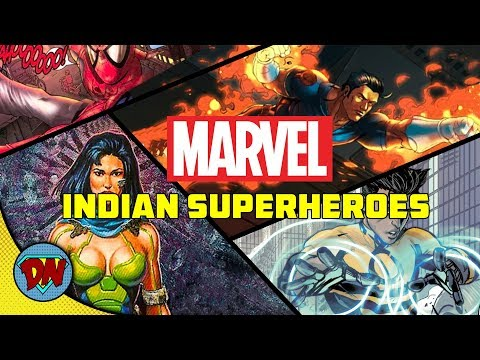 Top 10 Indian Superheroes in Marvel | Explained in Hindi