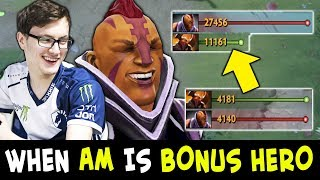 When Anti-Mage is Bonus Hero — MIRACLE insane FARM