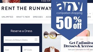 How to get & use coupons on Rent the Runway