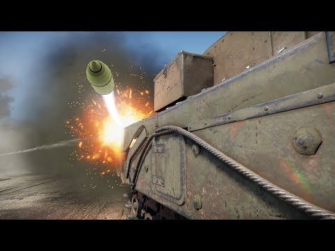 I Roleplayed As A Bunker And Bounced 100+ Shots (War Thunder)