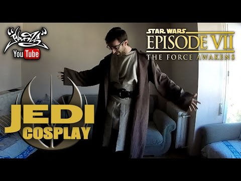 TUTORIAL Traje JEDI (STAR WARS)