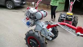 Мотоблок Мотор Сич МБ-6 бензин от компании ПКФ «Электромотор» - видео 3