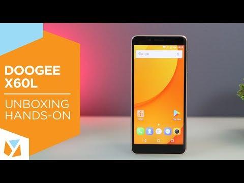 Doogee X60L Unboxing, Hands-On
