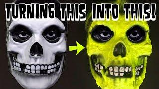 Customizing MISFITS Crimson Ghost mask 2020