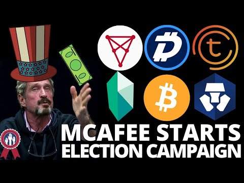 MCAFEE CAMPAIGNS | BITCOIN & DIGIBYTE on TOP | Chiliz & Juventus FC | Crypto.Com | Tomochain | Kyber