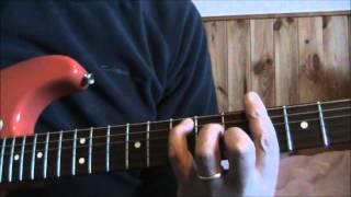 Rod Sewart Guitar Lesson   Ronnie Wood Guitar Tab