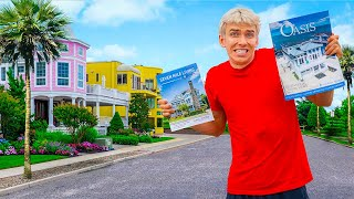 SHOPPING For NEW SHARER FAM BEACH HOUSE MANSION!! (Which One Should We Buy?!)
