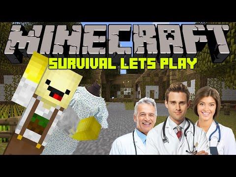 ♣ Minecraft   Survival   Lets Play   #3  Nemocnica..