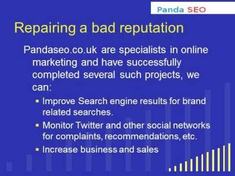 Online Reputation Management Experts