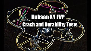 Half Chrome: Hubsan X4 FPV H107D Video Tests, Crashes and Review