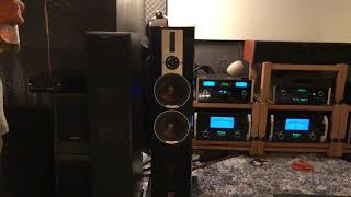 សាក DALI Epicon 6, McIntosh MC601 + C2600 + MCD350 + Transparent Ultra