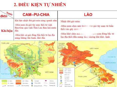 Địa lí 8-TH Tìm hiểu Lào vào CPC