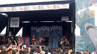 The Wonder Years - Cardinals (Live @ Warped Tour Atlanta)