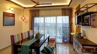 Boho Style Apartment Interior