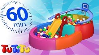 TuTiTu po polsku | Basenik z piłeczkami I inne zaskakujące zabawki | 1 godzina