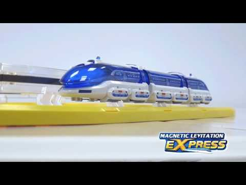 Youtube Video for Magnetic Levitation Express - No Wheels!
