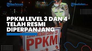 PPKM Diperpanjang 3 - 9 Agustus 2021, Luhut: 12 Wilayah Harus Terapkan PPKM Level 3 dan 4