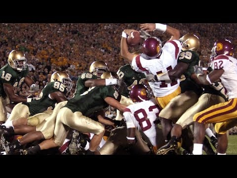 The Bush Push – Historic USC/Notre Dame Rivalry: A Game to Remember