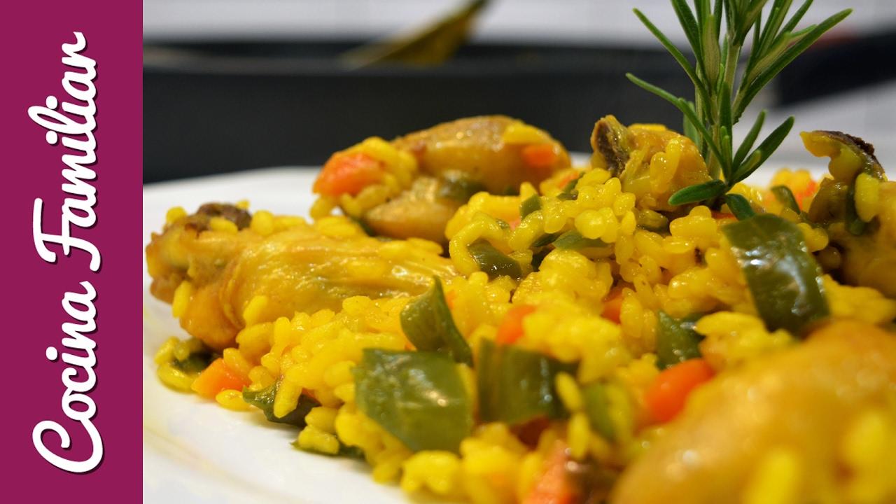 Arroz con pollo y verduras | Javier Romero Cap. 30 Temporada 1