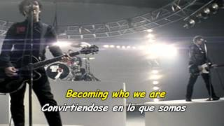 Green Day - Wake Me Up When September Ends (Subtitulado Español E Ingles)