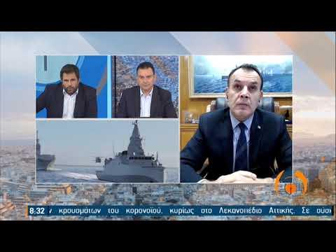 """Ο υπουργός Εθνικής Άμυνας στην εκπομπή """"Από τις έξι""""   ΕΡΤ 29/01/2021"""