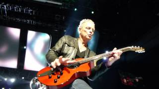 HD Fleetwood Mac Lindsey Buckingham SOLO at end of Eyes Of The World VANCOUVER 5/19/2013