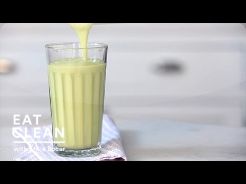 Avocado-Vanilla Pear Juice Smoothie – Eat Clean with Shira Bocar