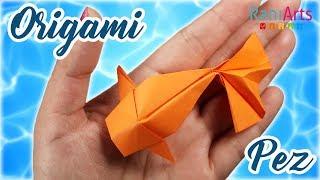 PEZ DE ORIGAMI - DIY - ORIGAMI FISH