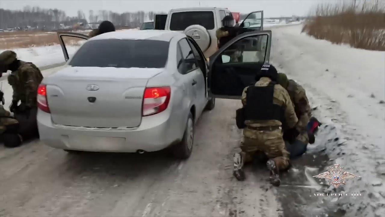 Задержание банды наркоторговцев в Новосибирске