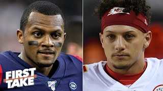 Patrick Mahomes vs. Deshaun Watson: Which QB is more valuable to their team? | First Take
