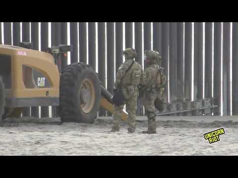 [LIVE] Caravan of Asylum Seekers Arrives at US/Mexico Border Near San Diego