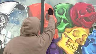 Day of the Dead celebration takes over downtown Aurora in one of area's largest displays