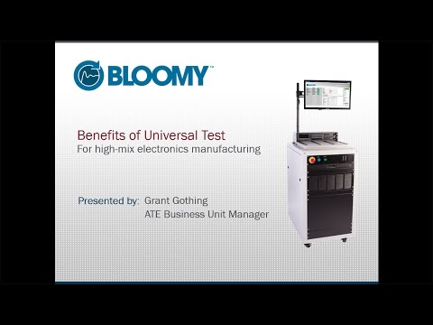 Benefits of Universal Test for High-Mix Electronics Manufacturing