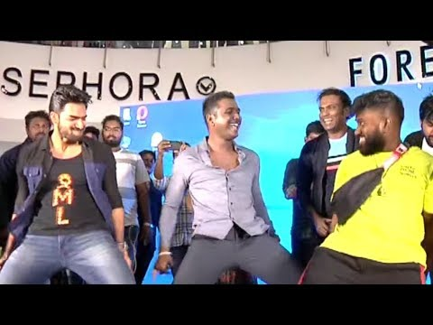 90ML Movie Song Launch Event @ Srujana Forum Mall | Rahul Sipligunj Craze | Manastars