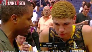 JBA| LaMelo Ball LA Ballers vs NY   Full Highlights 44 Pts,13 Rebs, 5 Ast, 7 Stls, Fouled Out!