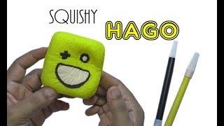Cara Membuat Squishy Hago - How To Make Hago Squishy