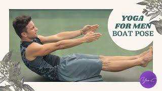 YOGA FOR MEN | BOAT POSE ✨ GET FIT #55