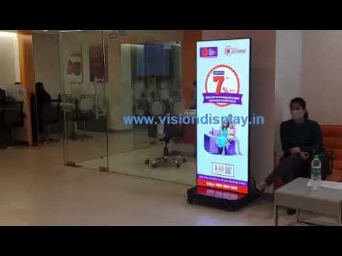 LED Display Advertising Stand