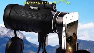 Teropong Portable 40X60 FULL HD Monocular HD Night Vision Telescope Prism Scope Phone Camera Lens Tropong Portable