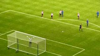 preview picture of video 'Exeter City Vs Morecambe (penalty save)'