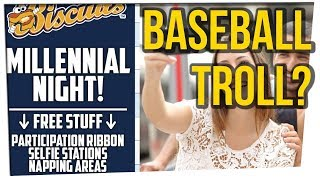 Baseball Team Runs Hilarious 'Millennial Night' ft. Tim DeLaGhetto