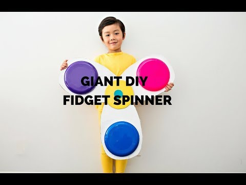 How To Make A Fidget Spinner Halloween Costume