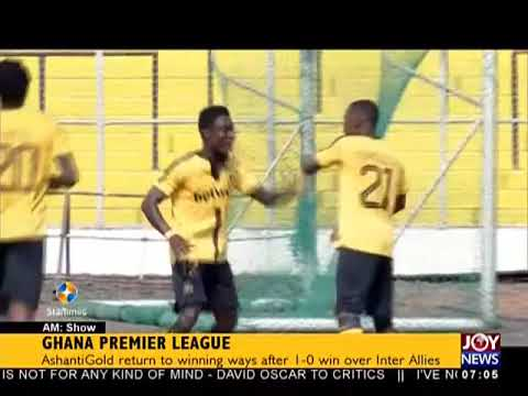 Ghana Premier League - AM Sports on JoyNews (23-4-18)