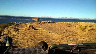 Lake Titicaca Camp site