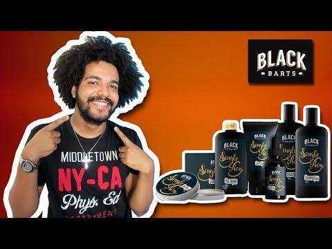 TESTANTO PRODUTOS PARA BARBA - BLACK BARTS