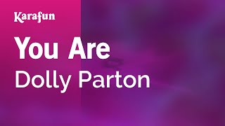 Karaoke You Are - Dolly Parton *