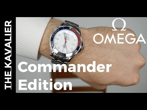 Omega Seamaster Limited Edition Commander's Watch Unboxing and Review