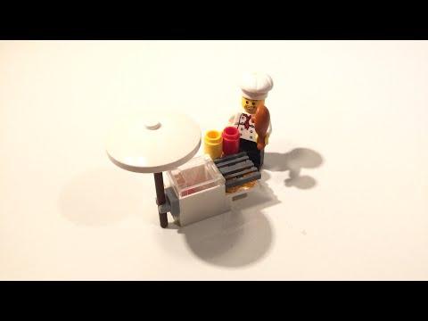 Vidéo LEGO City 8398 : Le stand barbecue